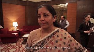 Nirmala Sitharaman opinion